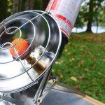 自分専用暖房  UNIFLAME ガス パワーヒーター