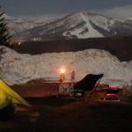 2019-04 サヒナ前半 -焚き火と残雪キャンプ