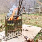 conifer cone パイロマスター2  〜超小型焚き火の楽しみ方